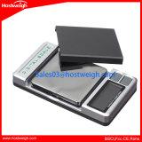 100g/0.01gツールのポケットスケールのダイヤモンドの宝石類の重量の測定の重量を量る小型LCDの表示のデジタルABSスケール