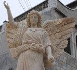 Monumento antigo do mármore da lápide do mármore da cor