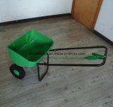 プラスチック車輪が付いている小さい肥料の拡散機