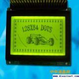 RoHS 128X64 LCD Bildschirmanzeige (Größe: 78X37.4X5.3mm)