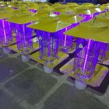 가벼운 센서를 가진 태양 강화된 LED 재충전용 모기 살인자