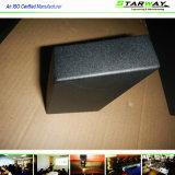 Изготовление металлического листа коробки металла черного порошка Coated