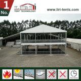 異なったイベントのためのガラスが付いている二重デッカーのテント