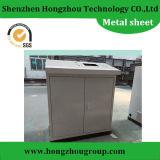 Trabajo del recinto del metal de hoja del CNC de la precisión