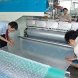 Double Screw Air Bubble Film Extruder
