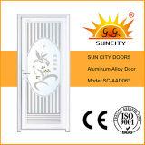 Conception en aluminium blanche de portes de ville de Sun (SC-AAD057)