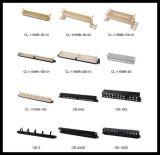 24 painéis de correção de programa das portas rj45 cat5e