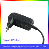 交換可能な12W Wall Mount Type AC DC Power Adapter