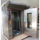 Forno rotativo elettrico della cremagliera dell'aria calda dei 32 cassetti per il forno con il blocco per grafici del carrello