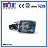 Moniteur électronique de pression sanguine de bras de Digitals de ménage (point d'ébullition 80EH) avec le grand affichage à cristaux liquides