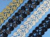 Merletto lavorato a maglia alta qualità per gli accessori dell'indumento