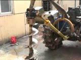 Getriebe für grabendes Baum-Vertiefung-Gang-Gehäuse-Massen-Bohrgerät