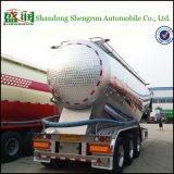 De poudre de transport de réservoir remorque matérielle semi