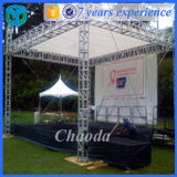 4 Towers / 4 Benen 12x8x8m Stage Truss Tower