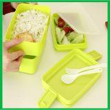 Grand cadre de déjeuner en plastique intéressant en gros de capacité