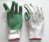 Перчатки хлопка высокого качества работая