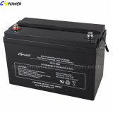 12V100ah AGM/Gel/Sealed Lead Acid Battery/Deep Cycle Battery para Solar Power e UPS System