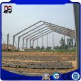 Pequeña casa prefabricada de la estructura de acero