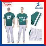 Healong Farben-Sublimation-Baseball Jersey