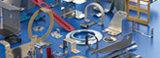 Metal revestido de la potencia del OEM que estampa la pieza de la fabricación