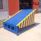 Carregando e descarregando a plataforma para o armazenamento frio