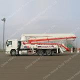 トラックによって取付けられる具体的なポンプミキサーの具体的なポンプトラック