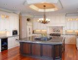 Cabinet de cuisine de luxe en bois plein (SBK-010)
