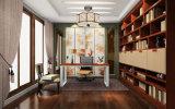 Muebles de bambú sólidos del sitio de estudio (zj-006)