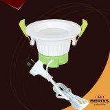 Iluminación del color blanco y verde LED del recorte 90 para el uso de interior