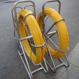 노란 색깔을%s 가진 라이트급 선수 4.5mm*100m 섬유유리 덕트 Rodder