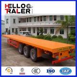 13m Tri Axle Flatbed Semi Trailer/Container Bulker Truck Trailer