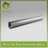Plafond rond en aluminium à extrémité élevé de profil de tube du diamètre 70mm