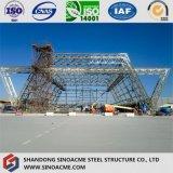 高層鉄骨構造のプラント