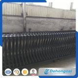 保護道の鋼鉄レールフェンス
