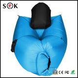 屋外旅行210tナイロンRipstop膨脹可能な折るLamzacたまり場のスリープの状態である不精な袋のソファーを満たす速い空気