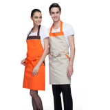 100%Cotton Apron con Adjustable Button