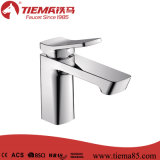 Faucet de bronze Polished elegante da bacia do banheiro do cromo do corpo (ZS41603)