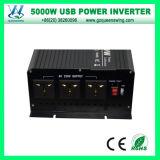 New 5000W Modificado Wave Power Inverter com 3 tomadas, 4 Ventoinhas e 4 Terminais