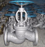 Type à haute pression robinet d'arrêt sphérique de bride d'acier inoxydable de Wcb rf
