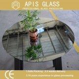 specchio rotondo di Frameless del lavabo del Governo dell'acquazzone di 6mm/specchio di sicurezza con i bordi smussati