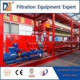 Imprensa de filtro automática controlada do PLC para o tratamento de Wastewater do chapeamento