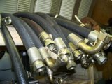 Draht-geflochtener oder gewundener hydraulischer Schlauch