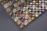 Azulejo de mosaico cristalino de cristal redondo (CFR623)