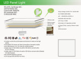 595*595mm 603*603mm 620*620mm GDT Change en Dimmable LED Panel Light