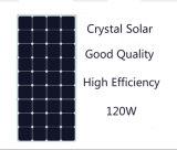 TUV zugelassener Sunpower flexibler Sonnenkollektor der hohe Leistungsfähigkeits-Solarzellen-120W halb