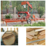 Large Wood Logs Cuttingのための自動Portable Sawmill Used