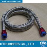 SAE R14 solides solubles a tressé le boyau de pétrole hydraulique