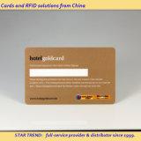 Cartão de assinatura para o membro de clube