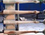 O punho de madeira da picareta Lathes a máquina