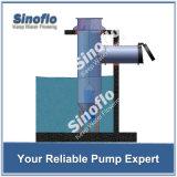 Carter de vidange axial de puits peu profond de flux élevé asséchant les pompes de pression submersibles de l'eau